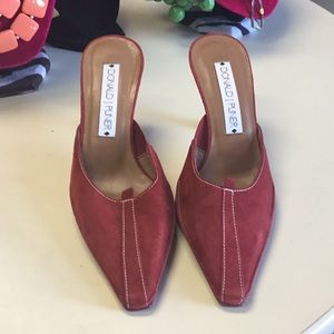 Red Donald J. Pliner shoes